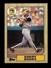 1987 Topps Baseball  #320  Barry Bonds