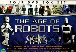 THE AGE OF ROBOTS 4 DVD BOX SET ROBOTICS ARTIFICIAL INTELLIGENCE NEW & SEALED