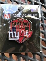 New & Sealed NFL Tampa Bay Buccaneers NY- Bucs Game Day Pin WinCraft Collection