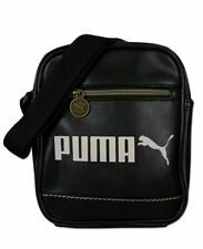 Puma Men's Campus Portable Shoulder Bag - Black, One Size