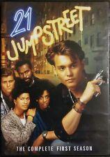 21 Jumpstreet-Complete First Season 2Dvds-Johnny Depp
