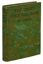 The Green Cocktail Book by JIMMY ~ 1932 Antique Bartending Guide Mixed Drinks