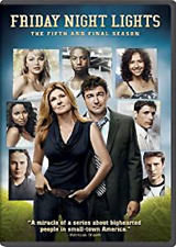 Friday Night Lights: Fifth Season 5 Five - Final Season (DVD, 2011, 3-Disc Set)