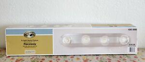 Hampton Bay - 4 Light Vanity Fixture - Brushed Nickel - RACEWAY - #108898