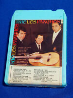 Trio Los Panchos 8 Track Tape C8S 1330 Lear Jet Sound Blue Self Titled