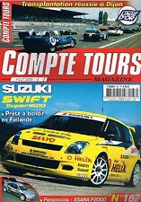 Compte Tours Magazine   N°187   Aout 2005 : Suzuki swift super 1500