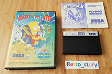 SEGA Master The Simpsons Bart VS The World PAL