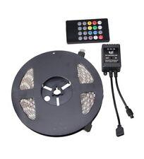 RioRand 5050 SMD 16.4ft 5 Meter 300 LED's RGB Flexible Waterproof Strip Lighting