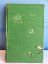 Cotton Culture On Hardscramble Plantation DJ Pledger 1st Ed 1951 Signed MS State