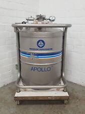 Messer Griesheim Apollo 50 Flüssig Stickstoff Dewar Aufbewahrung Schiff