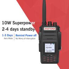 Zastone A19 Dual Band Radio 10W FM VHF UHF Portable Ham Walkie Talkie 999CH A19