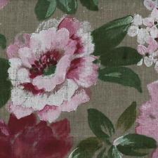 Textiles français Flowers in Bloom 100% Linen Designer Print fabric