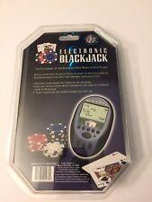 Excalibur Electronic BlackJack NEW model 473-CS handheld lcd travel game