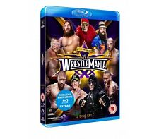 Official WWE Wrestlemania 30 XXX ( 2 Disc Blu Ray Set ) 2014