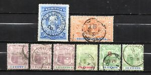 Mauritius very nice older mixed collection,stamps as per scan(10377)