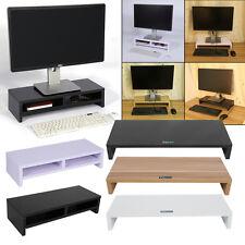 Bildschirmerhöhung Monitorerhöhung Holz Monitorständer Schreibtischregal 3 Farbe