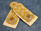 WWII German uniform jacket shoulder board pair strap Luftwaffe General patch set