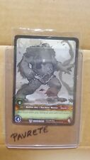 WORLD OF WARCRAFT WOW TCG EXTENDED ART PROMO : GNASH SKETCH CARD RARE
