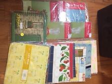 Lot Of Treat Bags, Wrapping Paper, Party Bags, Cookie Tray Bags. Card Organizer
