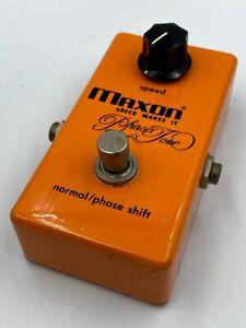 Maxon PT-999 Phase Tone '70s Vintage MIJ Guitar Effect pedal Made in Japan