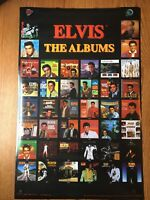 ELVIS PRESLEY ~ ALBUM COVERS 22x34 MUSIC POSTER NEW ROLLED 1998 #385