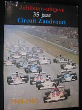 NPU Book Jubileum-uitgave 35 jaar Circuit Zandvoort 1948 - 1983 (Nederlands) #2