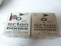 Orton  Standard Pyrometric Cones - partial boxes of 30 (04) and 35 (05)
