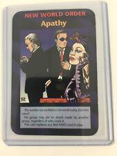 Illuminati New World Order INWO Assassins Rare Cards NWO Apathy CCG