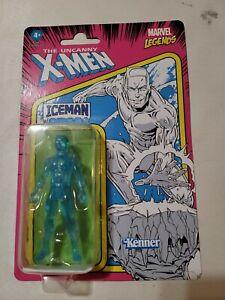"Marvel Legends Retro ICEMAN X-MEN 3.75"" Action Figure Kenner Hasbro 2021"