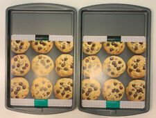 New listing Two Smart Living Cookie Sheets Baking Pan 15 x 10 Non-Stick Easy Release