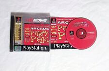 MIDWAY ARCADE PARTY PAK PlayStation PS1 Arcade Classics Rampage Smash TV Klax