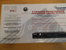 Vintage Chase Home Theater System Hts-1, New Old Stock, Never Used(Red Box)