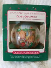 Betsey Clark Home For Christmas Hallmark Ornament #3 in series 1988 Vintage