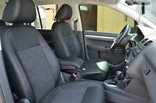 seat covers VW Volkswagen Touran Mk1 premium Leather Interior personal style