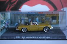 DIECAST JAMES BOND 007 MGB From the Film the Man With The Golden Gun 1/43