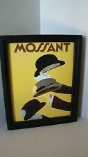 Leonetto Cappiello (1875-1942) Mossant Chapeaux Hats Poster Printed On Canvas