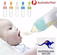 Premium Spoon Feeder Bottle Silicone Rice/cereal/purée/AU stock Fast n Free