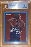 🔥2009-10 LeBron James TOPPS BOWMAN BLUE '48 1948 #14 SP /1948 BGS 9 PSA lakers