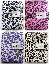 Animal Print Diary Cheetah Teen Locking Journal with Key 4 Color Schemes RM1322