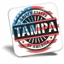Awesome Fridge Magnet - Tampa Bay Florida USA American Flag Cool Gift #6073