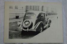 AUTO DE ÉPOCA FOTO 1936 FORD slantback Sedan en Inusual Suave Exposición 846
