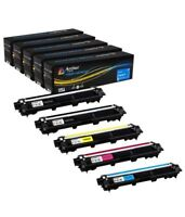 Arthur Imaging Compatible 5 Pack Toner Cartridge Replacement Brother TN221 TN225