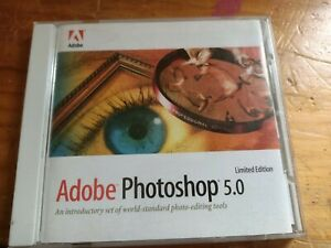 Adobe Photoshop 5.0 Limited Edition. Pc.