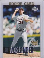 JUSTIN VERLANDER 2006 Upper Deck #922 MLB ROOKIE CARD Detroit Tigers Baseball RC