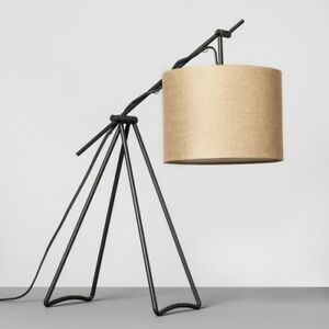 Hearth & Hand With Magnolia - Charcoal Tripod Table Lamp