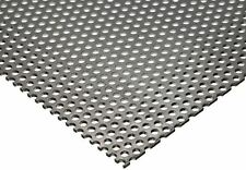 "Perforated Stainless Steel Sheet, 20 ga. x 24"" x 48"", 1/8"" Holes, 3/16"" Centers"