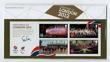 2012 MEMORIES of LONDON OLYMPICS PARALYMPICS PRESENTATION PACK NUMBER 476