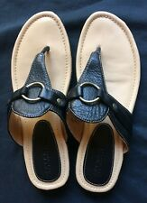 Women's Sperry Top-Sider Brown Leather Sandals sz 10 M