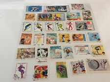 Mix Of 30 World Stamps, Some Mint, All Different Depicting Olympic Sports Set8