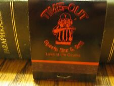 MO Vintage Time-Out Sports Bar & Grill Lake Of The Ozarks Missouri Matchbook